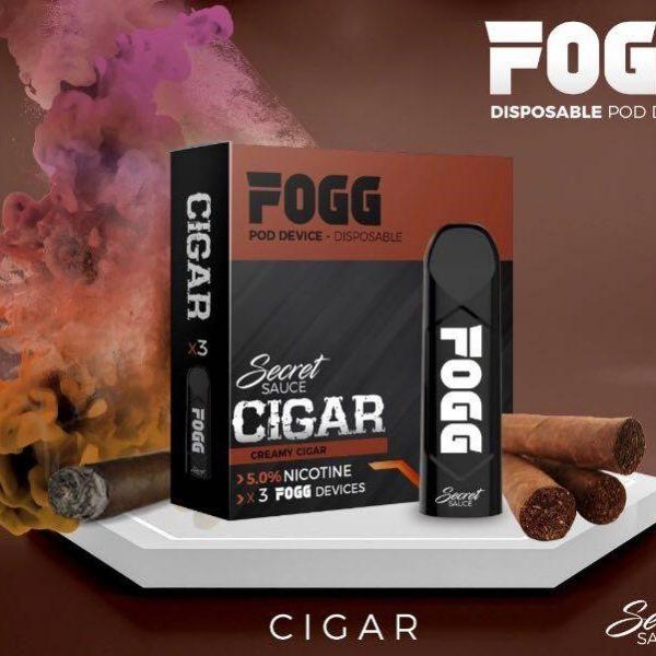 Secret Sauce Fogg Cigar Saltnic