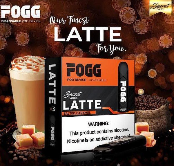Secret Sauce Fogg Latte Saltnic