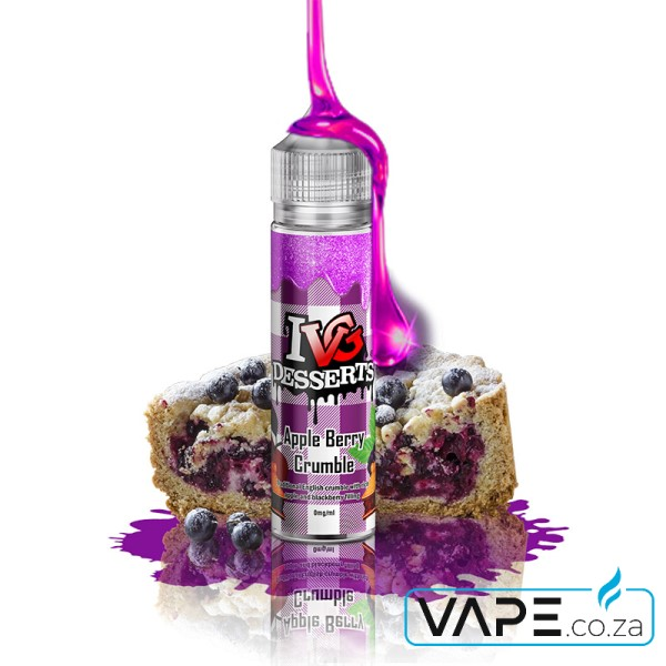 ivg apple berry crumble e-juice