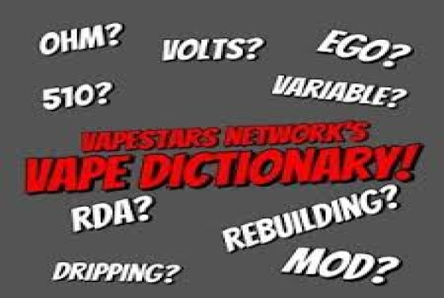vape dictionary