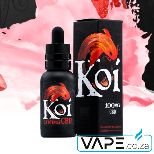 Koi Strawberry Milkshake CBD Vape Juice