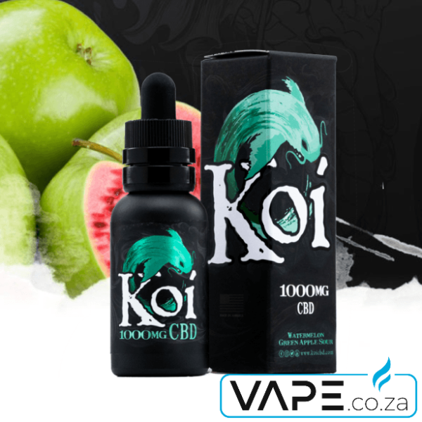 Koi Watermelon Green Apple Sour CBD Vape-Juice