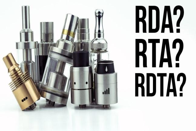 Atomizer RDA RTA RDTA