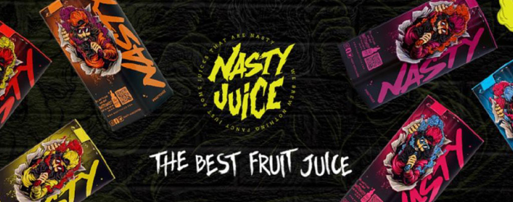 Nasty Juice Banner For Scoller