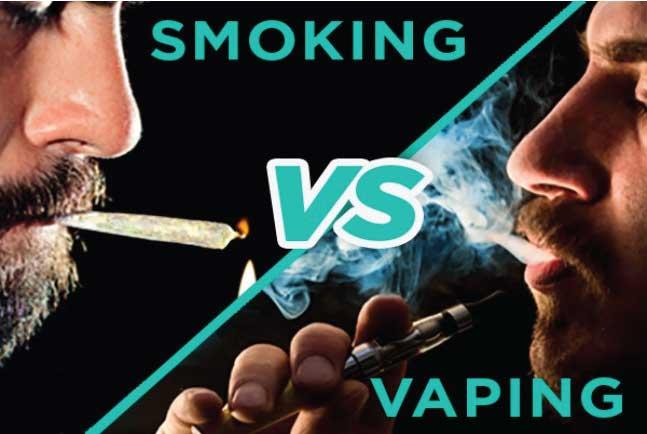 smoking vs vaping is vaping bad for you?