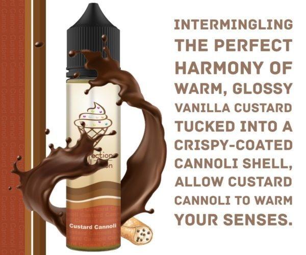 Custard Cannoli e-juice