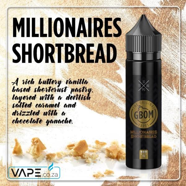 GBOM Millionaire's Shortbread e-juice
