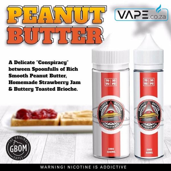 GBOM Peanut Butter Conspiracy e-juice