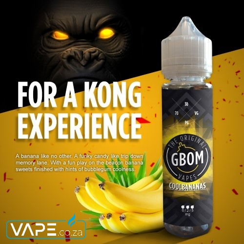 Gbom Cool Bananas E-Juice