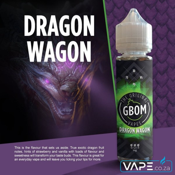 Gbom Dragon Wagon e-juice