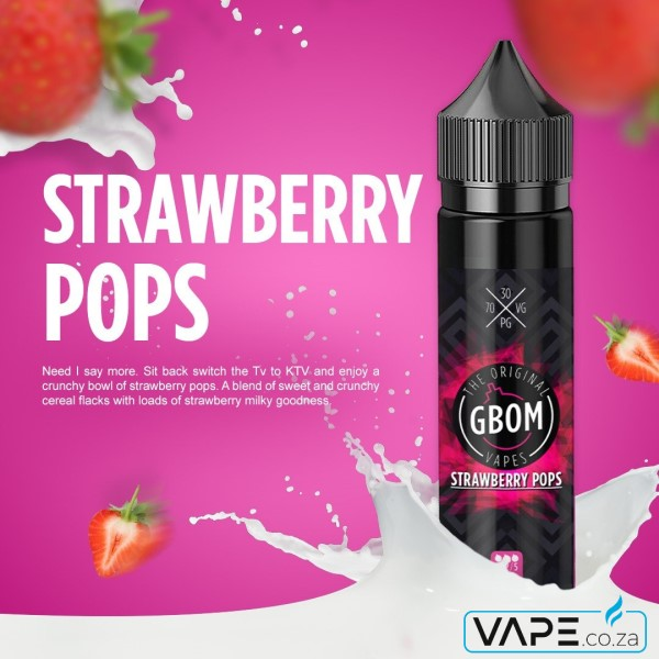 Gbom Strawberry Pops e-juice