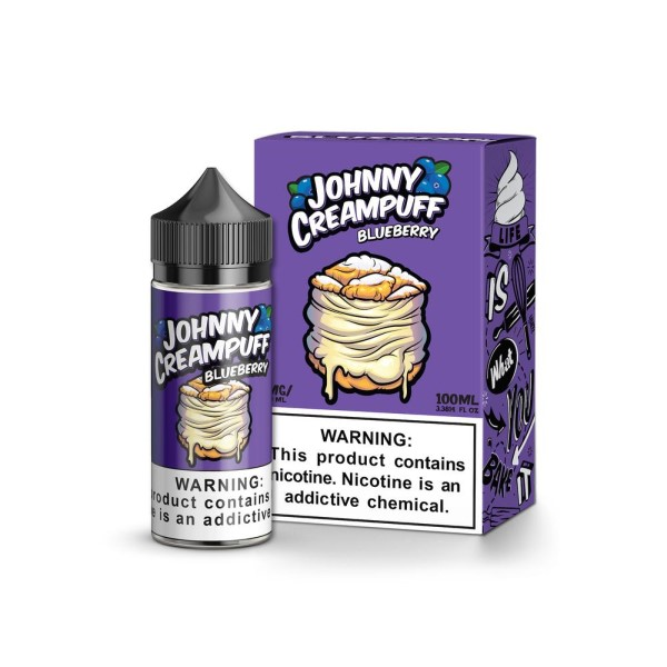 Johnny Cream Puff Blueberry E-liquid