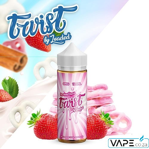 Loaded Twist Strawberry Dipped e-juice