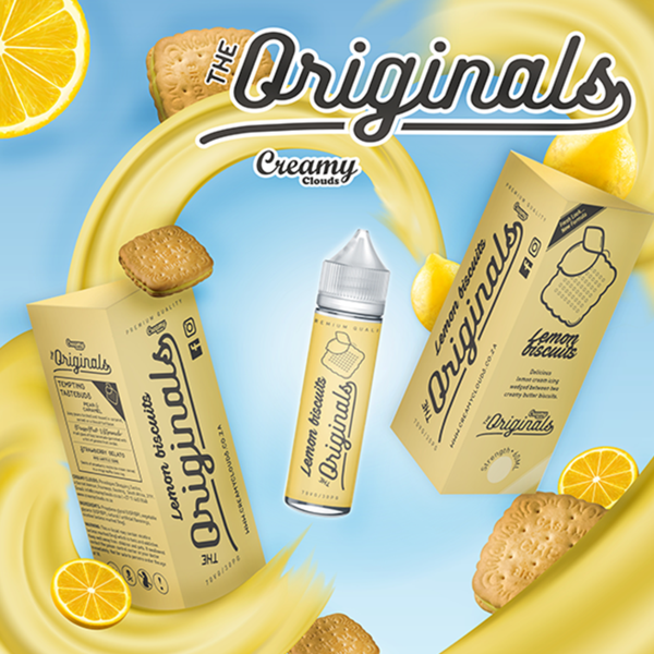 The Originals Lemon Biscuits e-liquid