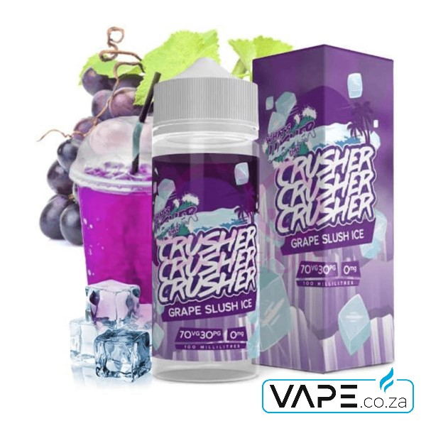 Grape Slush Ice by Crusher e-liquid