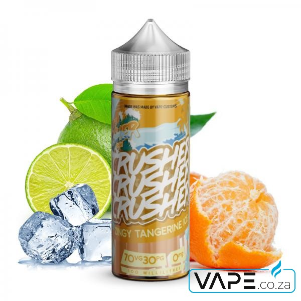 Zingy Tangerine Ice by Crusher e-liquid