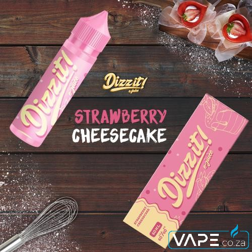 dizzit strawberry cheesecake e-liquid