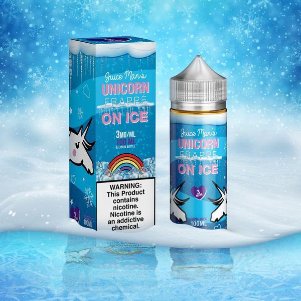 Unicorn Frappe on Ice