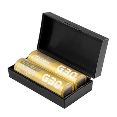 2 x Golisi G30 18650 Batteries